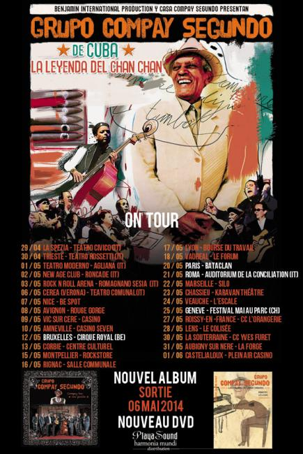 Grupo Compay Segundo : New Album and New Tour 2014